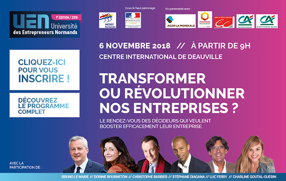 Université des Entrepreneurs Normands 2018